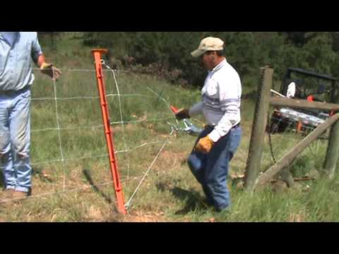 Electralock Fence Stretcher - YouTube