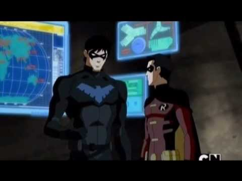 Young Justice_Dick Grayson (now nightwing) trustin