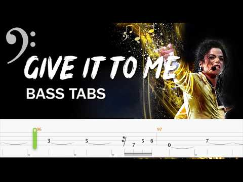 Michael Jackson - Give In To Me (Official Bass Tabs) By Chami's Arts