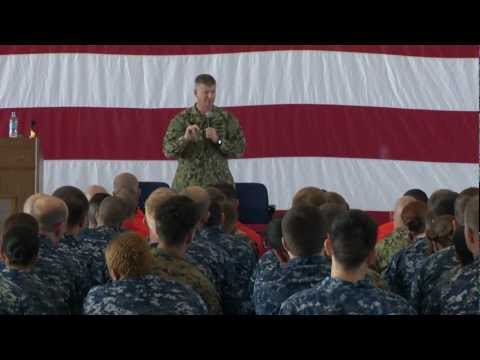 MCPON Rick West visits NAWCWD