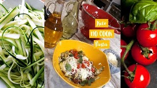 Easy  No Cook Pasta | Keto Recipes | Low Carb Hacks | 5 Ingredient Recipes