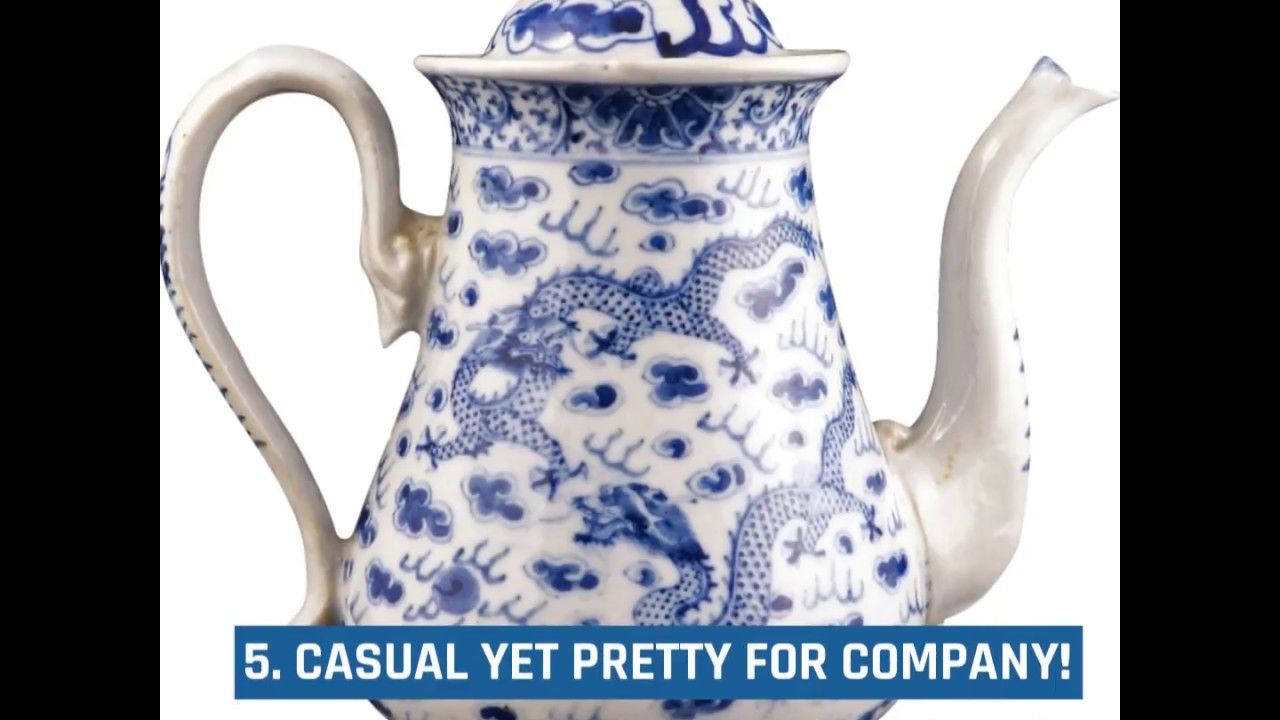 Blue and white pottery - 5 Reasons To Love Blue And White Porcelain Pottery