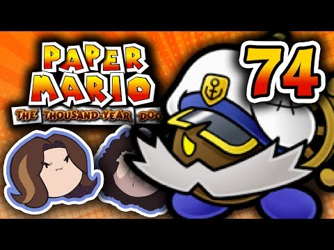 Paper Mario TTYD: An Emotional Moment - PART 74 - Game Grumps