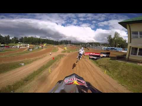 First GoPro lap of Kegums MXGP of Latvia 2015