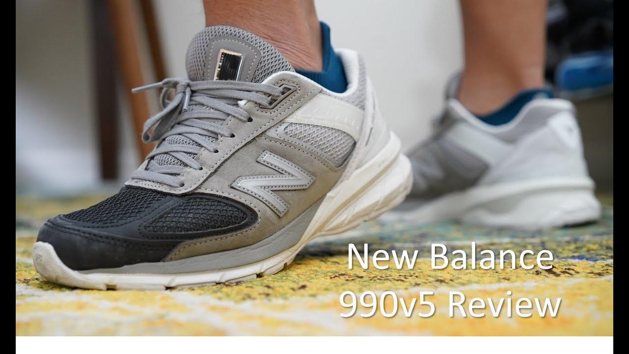 New Balance 990v5 Review
