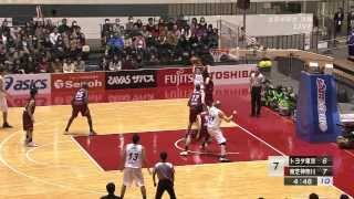 全日本総合バスケットボール選手権2014 男子決勝 トヨタ vs 東芝 thumbnail
