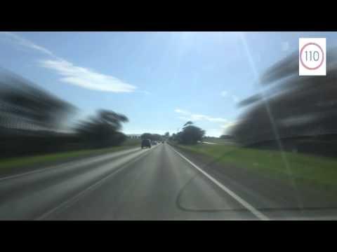 Hume Freeway heading north to Tallarook