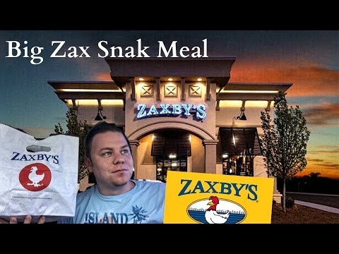 ZAXBYS BIG SNAK MEAL REVIEW IS IT A SIZZLE?? | THE SHOWSTOPPER SHOWS
