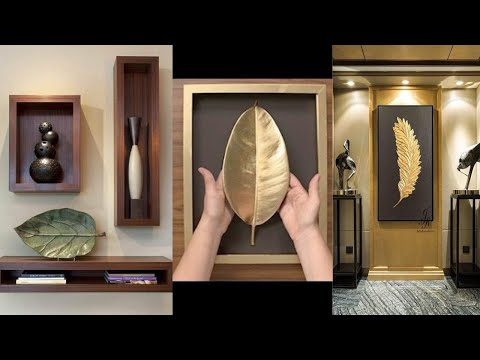Wall Shelf And Wall Art Decor Ideas