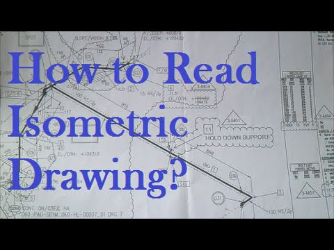 How To Read Isometric Drawing New Pipefitter