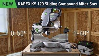 Festool KAPEX KS 120 REB: Sliding Compound Miter Saw