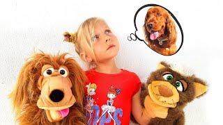 Веселая история про девочку Алису, кота и собаку / Сказки для Евы