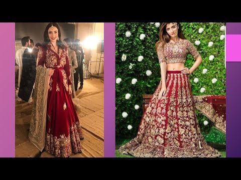 Gorgeous Works On Bridal Dresses 2018