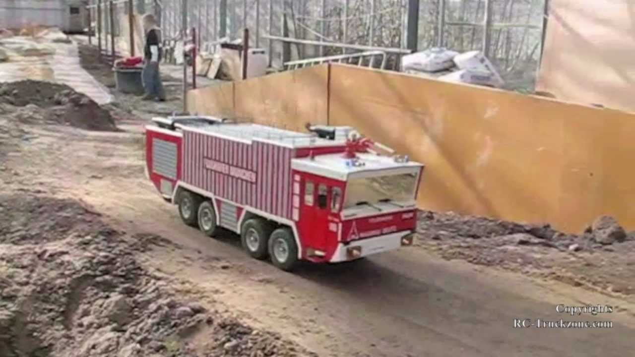 Rc Fire Truck Driving And Having Fun Part 1 Youtube