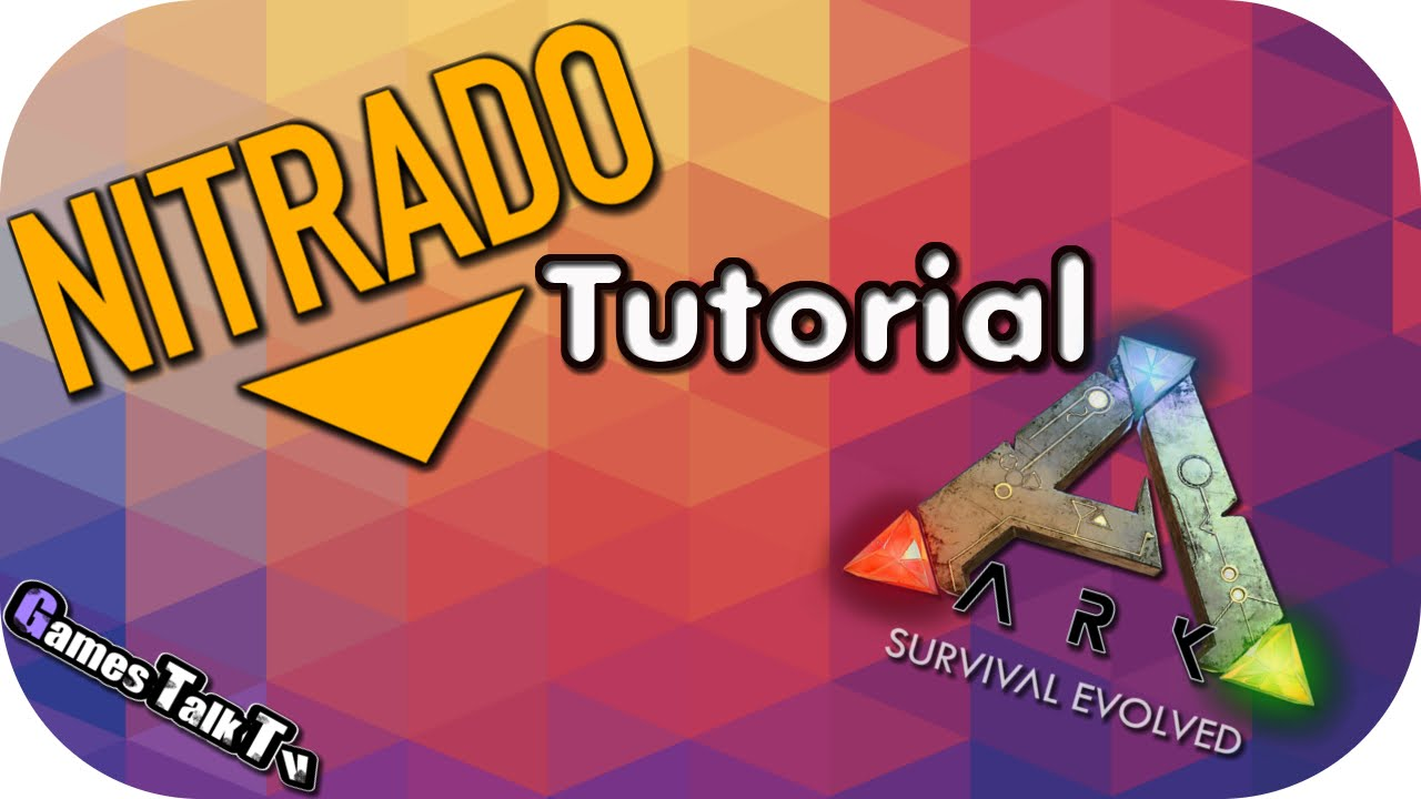 Tutorial Nitrado Server Ark Survival Evolved HDDEUTSCH - Minecraft nitrado server neue welt erstellen