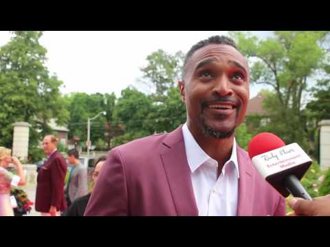 """Chat w Sean Jones at Canada's Walk Of Fame """"Music Under The Stars"""" Fundraiser"""