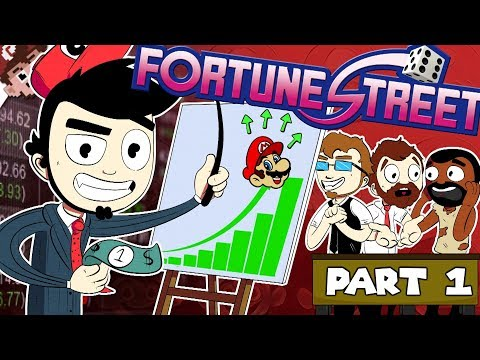 The WOLF of FORTUNE STREET! | Advanced Monopoly?! (Fortune Street:  Part 1 - In Person)