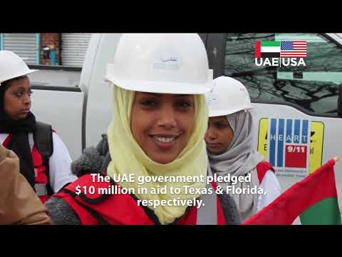 UAE Assistance to Texas and Florida Following 2017 Hurricanes