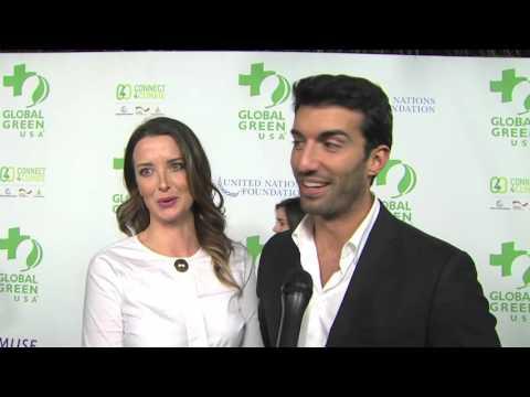 Global Green USA Pre Oscar Party: Justin Baldoni Interview