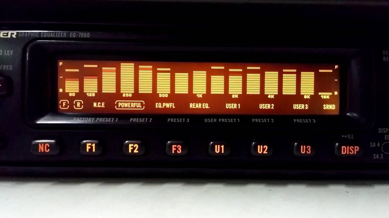 hight resolution of equalizador pioneer eq7000