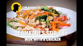 HOW TO WOK A CHICKEN (when you forget your wedding anniversary!)  - I AM NOT A CHEF! (ep.9)