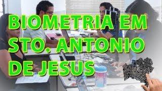 TRE-BA Notícias: Biometria em Santo Antônio de Jesus