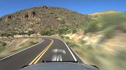 "Apache Junction To Tortilla Flat, Arizona In 7-minutes Via State Route 88 ""The Apache Trail"""