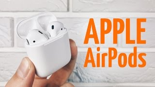 видео беспроводные наушники apple