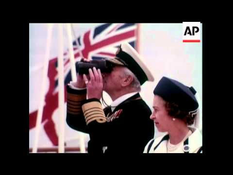 Jubilee Spithead Review - In Colour - 1977