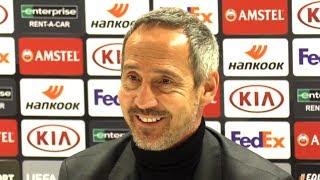Arsenal 1-2 eintracht frankfurt - adi hütter full post match press conference europa league