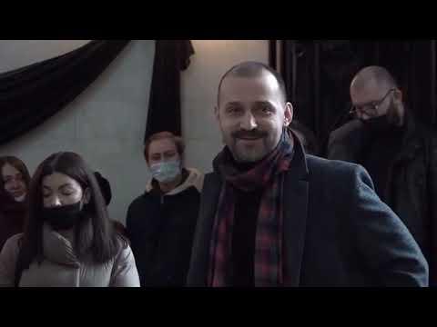 Руслан Белый - стендап на похоронах Александра Шаляпина