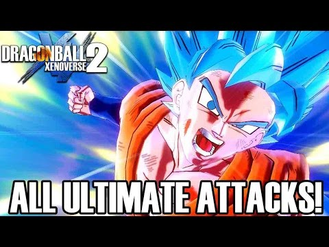 Dragon Ball Xenoverse 2 - All Ultimate Attacks! (ENGLISH) 1080p60