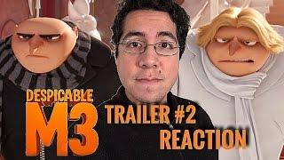 Despicable Me 3 - Official Trailer #2 Reaction