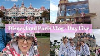 Disneyland Paris Vlog Day 5 - Our last day!