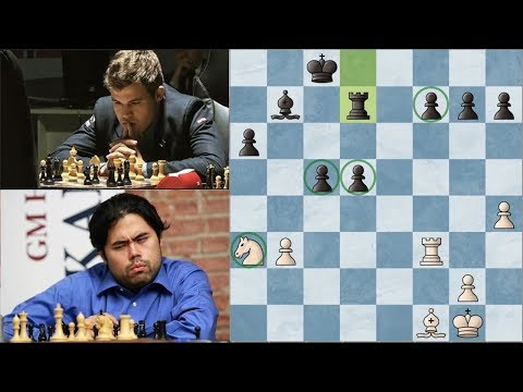 Hikaru Nakamura x Magnus Carlsen | LCC 2017 | Round 6