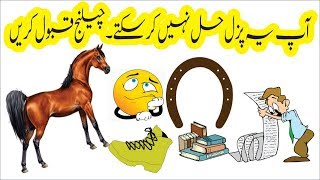 puzzle in urdu, 100% people fail to answer this puzzle, accept challenge if you are genius