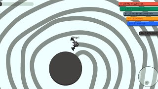 Playing Paper.io 2 INSTANT WINS ( 100% Map Control Tricks )
