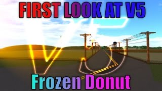 -ROBLOX- NK V5 REVIEW- FIRST LOOK WITH FROZEN DONUT