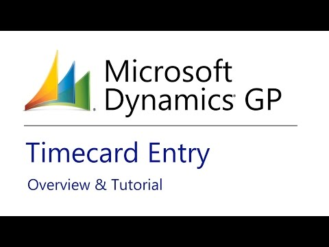 Microsoft Dynamics GP Videos | How-To Content and Add-On Solutions