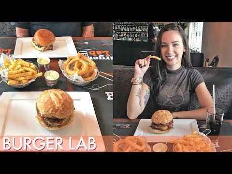 Burger gigante e Maxi Cookies Burger Lab  Segredinhos Vlog