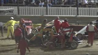 Rockford Speedway Badger Midget Feature Highlights