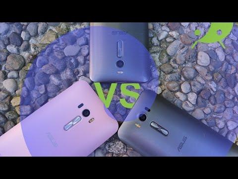 ASUS Zenfone 2 vs Zenfone 2 Laser vs Zenfone Selfie video confronto ITA da TuttoAndroid.net