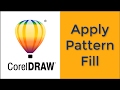 Corel draw: Apply Pattern Fill.