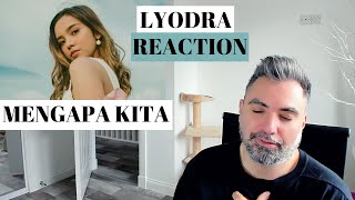 Gambar cover LYODRA - Mengapa Kita #terlanjurmencinta (REACTION): simple and delicate