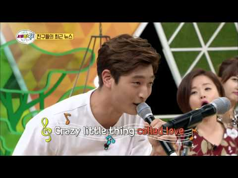 【TVPP】Jeong Jin-Woon(2AM) - CRAZY LITTLE THING CALLED LOVE @ World Changing Quiz Show