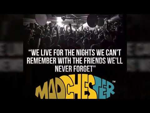 MADCHESTER March 2018 BEC arena Manchester, best tribute bands & acid house party SOLD OUT