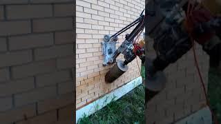 видео Алмазное бурение в кирпиче