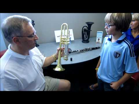 Beginning Band 5th Grade Student Rents an Instrument with RentMYinstrument.com