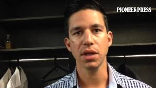 Video/ Tommy Milone on his trouble moving past 2-out miscues in short outing vs. former team #MNTwin