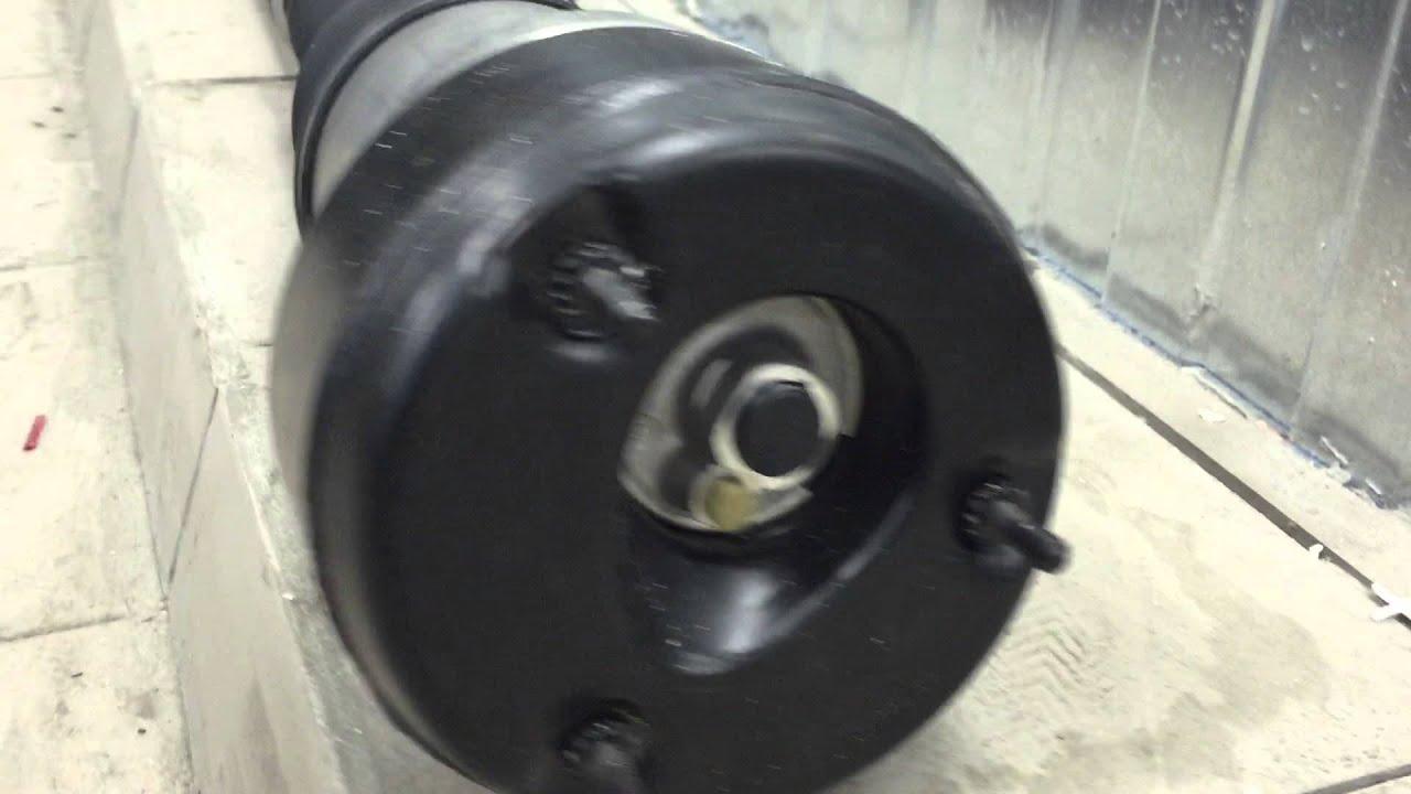 ремонт задних амортизаторов для 221 кузова мерседес
